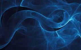Обои Голубая дымка: Линии, Синий, абстракции, Абстракции