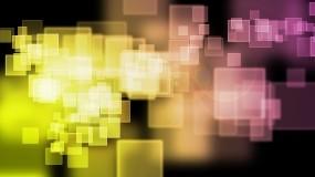 Обои Квадратные абстракции: Абстракция, Желтый, Оранжевый, малиновый, квадрат, Абстракции
