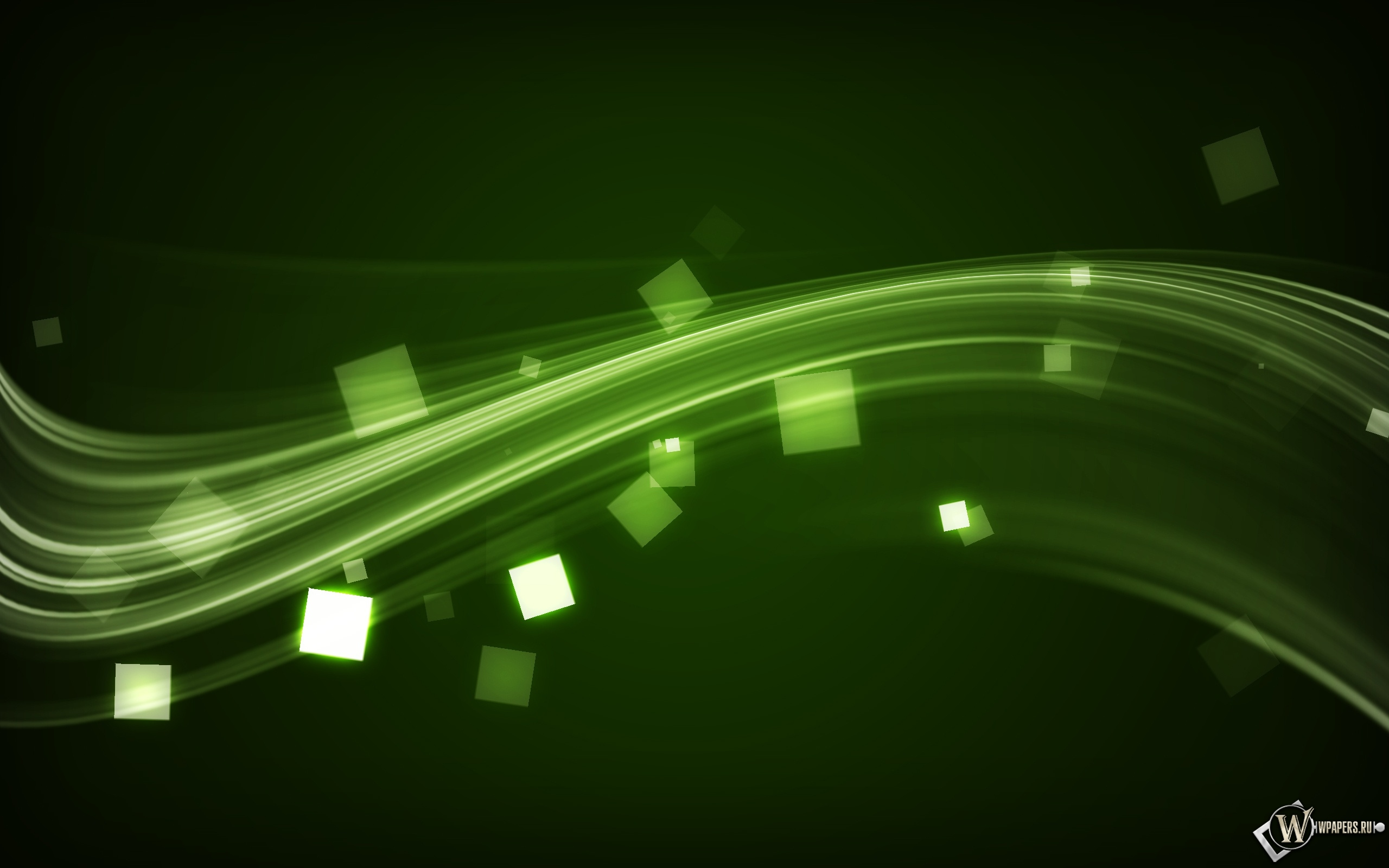 Электрозелень 2560x1600