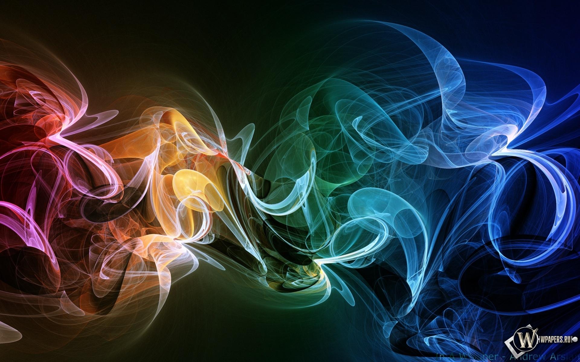 Радужный дым 1920x1200