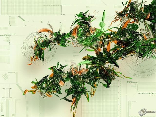 3D Листва