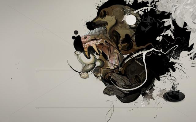 Абстракция бабуина