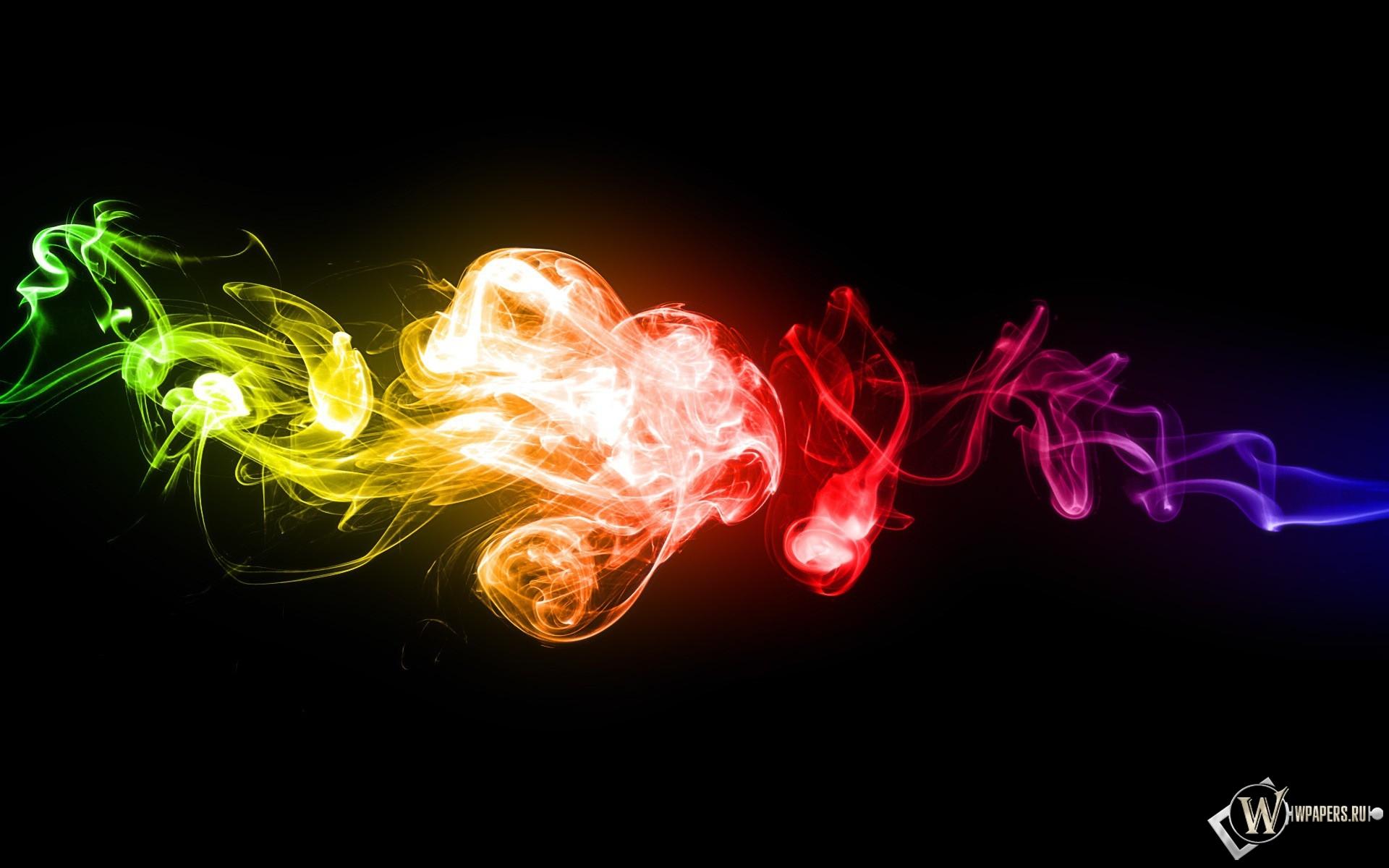 цветной дым 1920x1200
