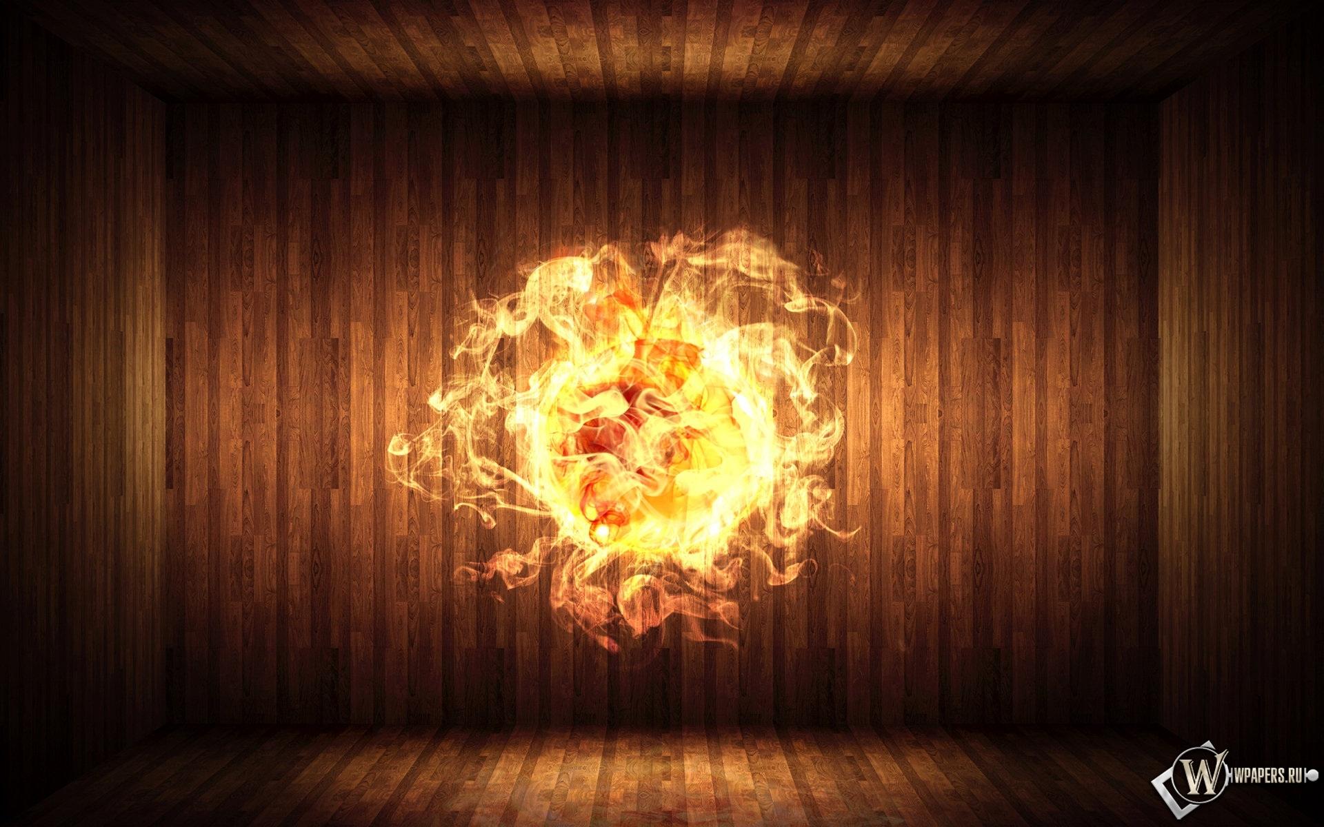 Огненный шар 1920x1200