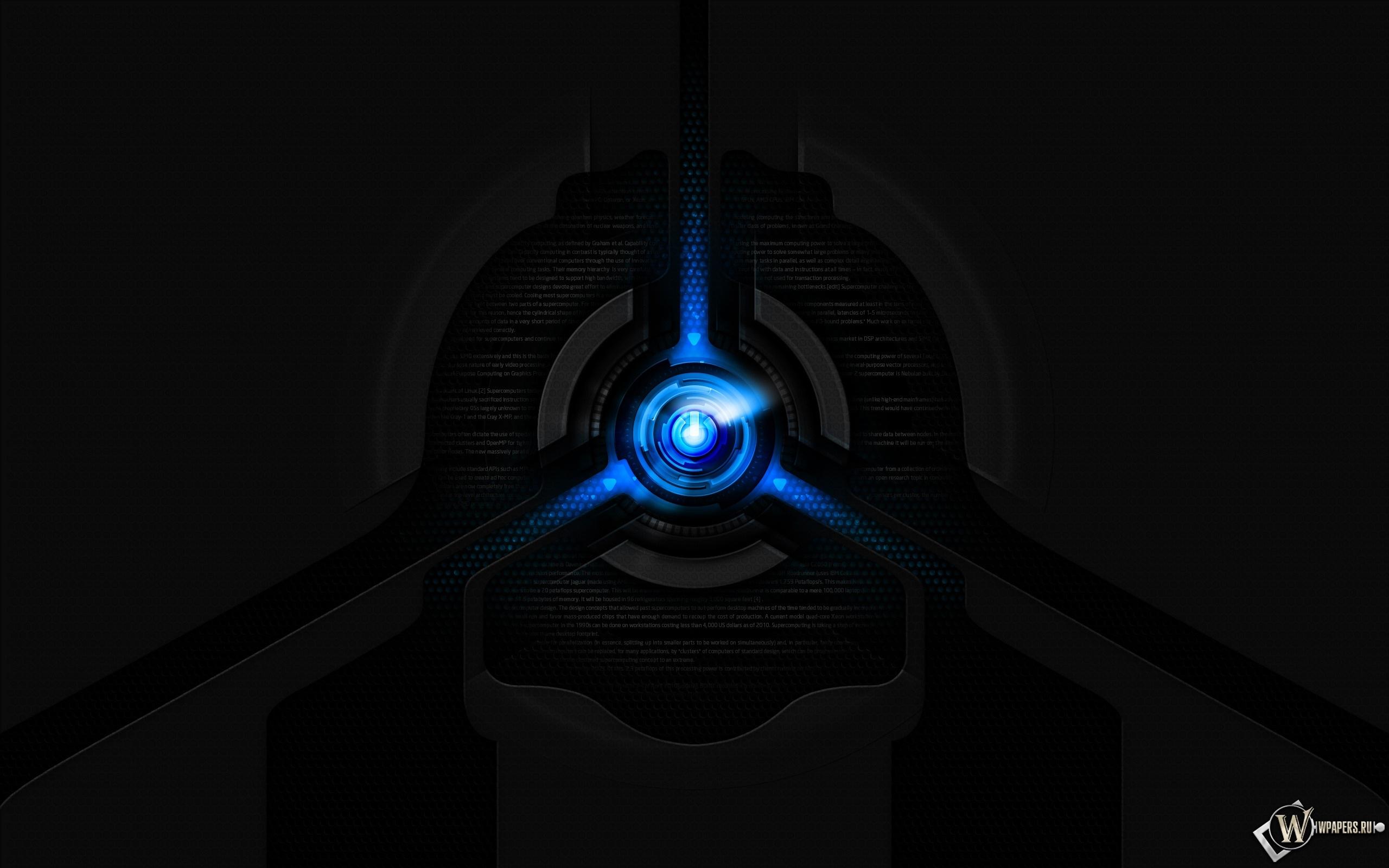 Liquid blue 2560x1600