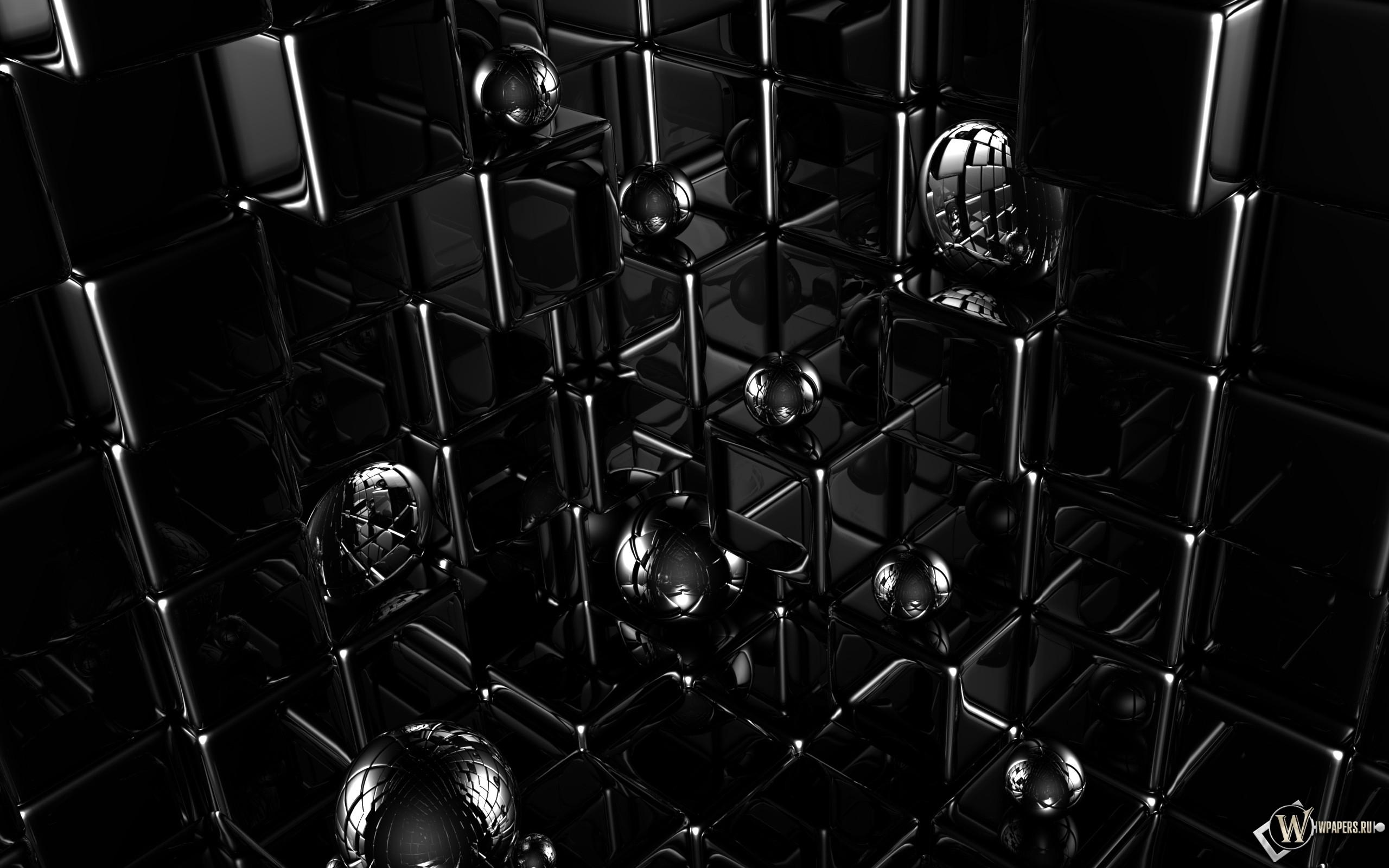 Кубики и шарики 2560x1600
