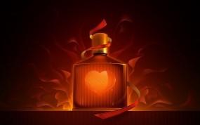 Обои Приворотное зелье: Любовь, Лента, духи, Рендеринг