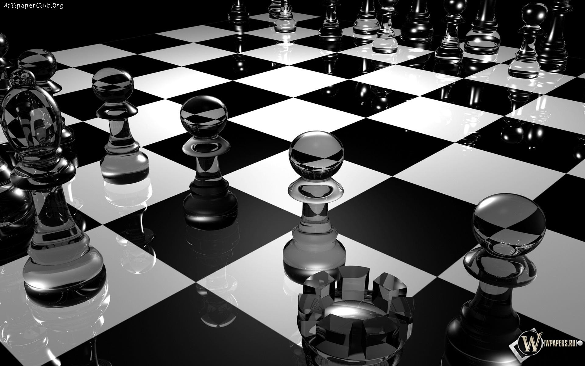 Шахматная доска 1920x1200
