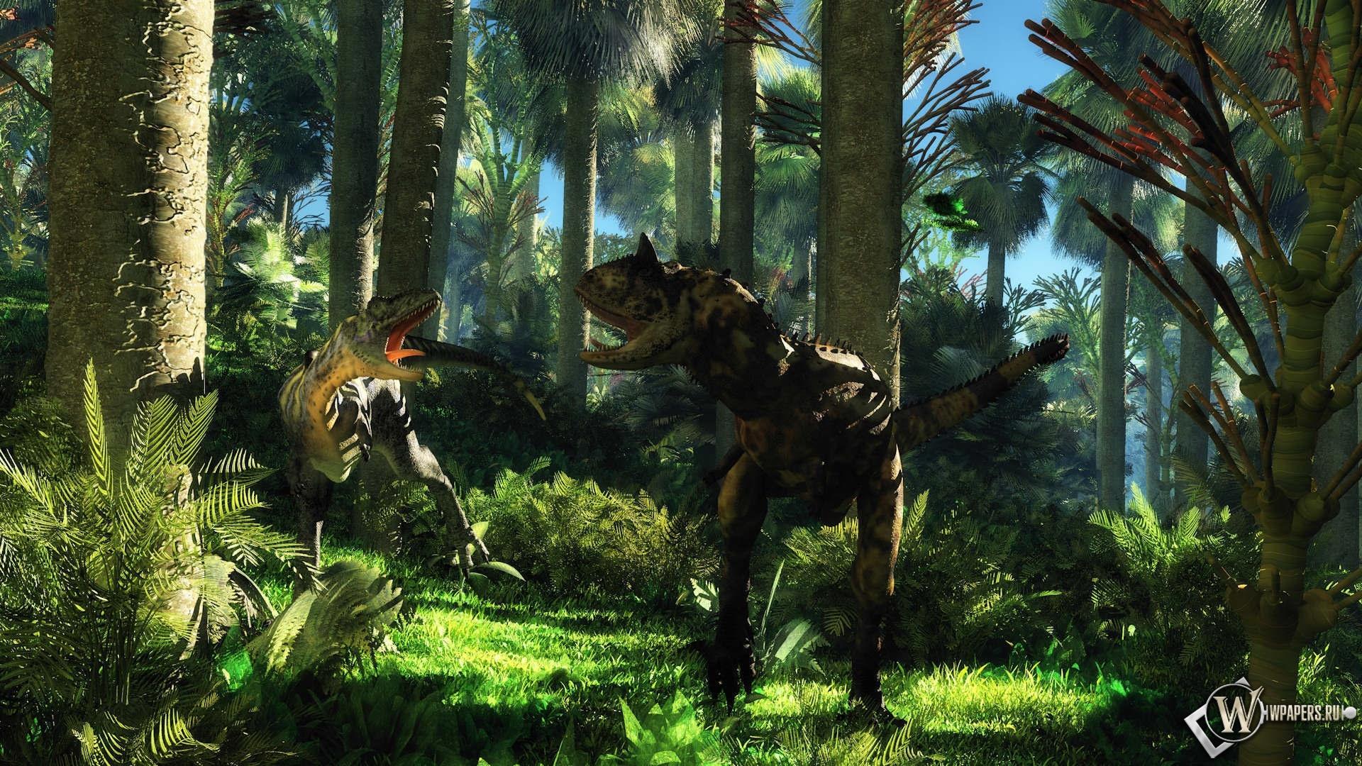 Динозавры 1920x1080