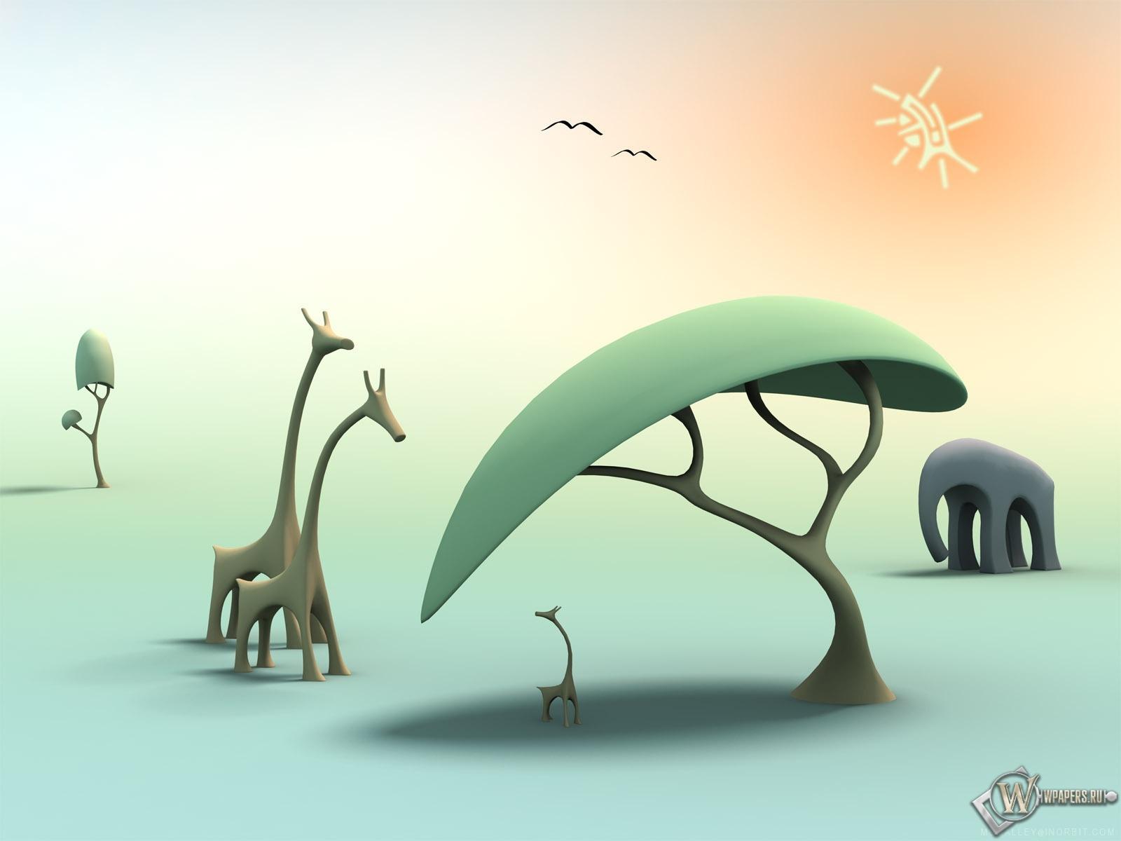 Природа Африки 1600x1200