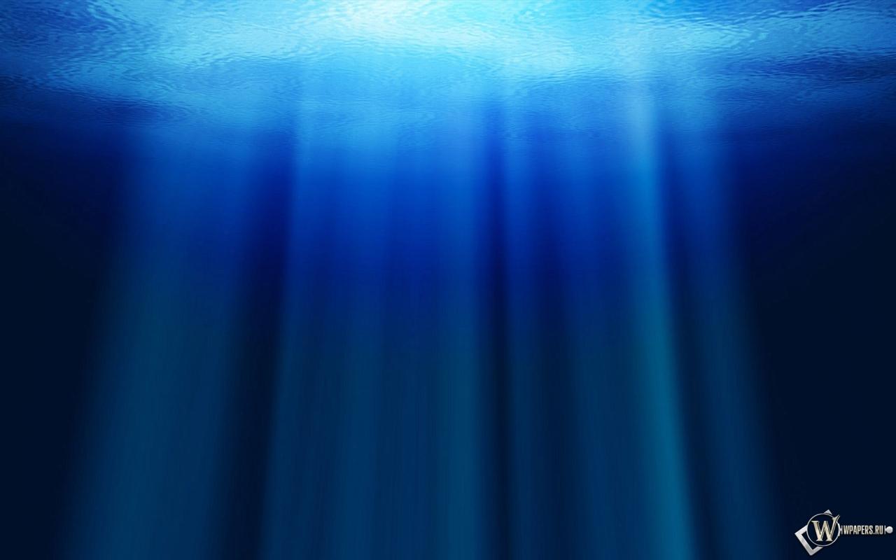 Под водой 1280x800