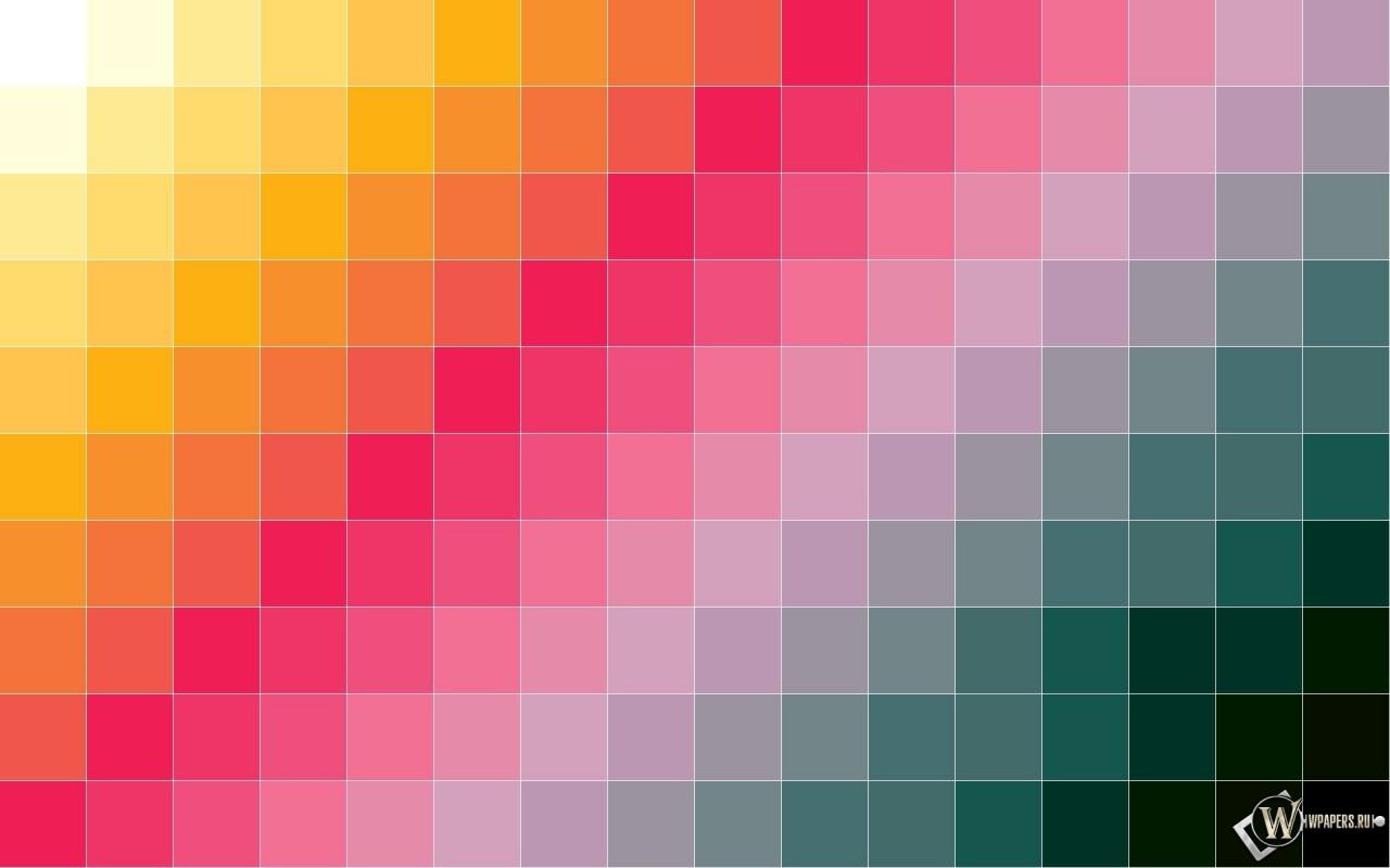 Сетка из квадратов 1280x800