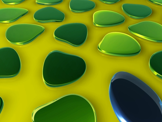Зелёные пятна