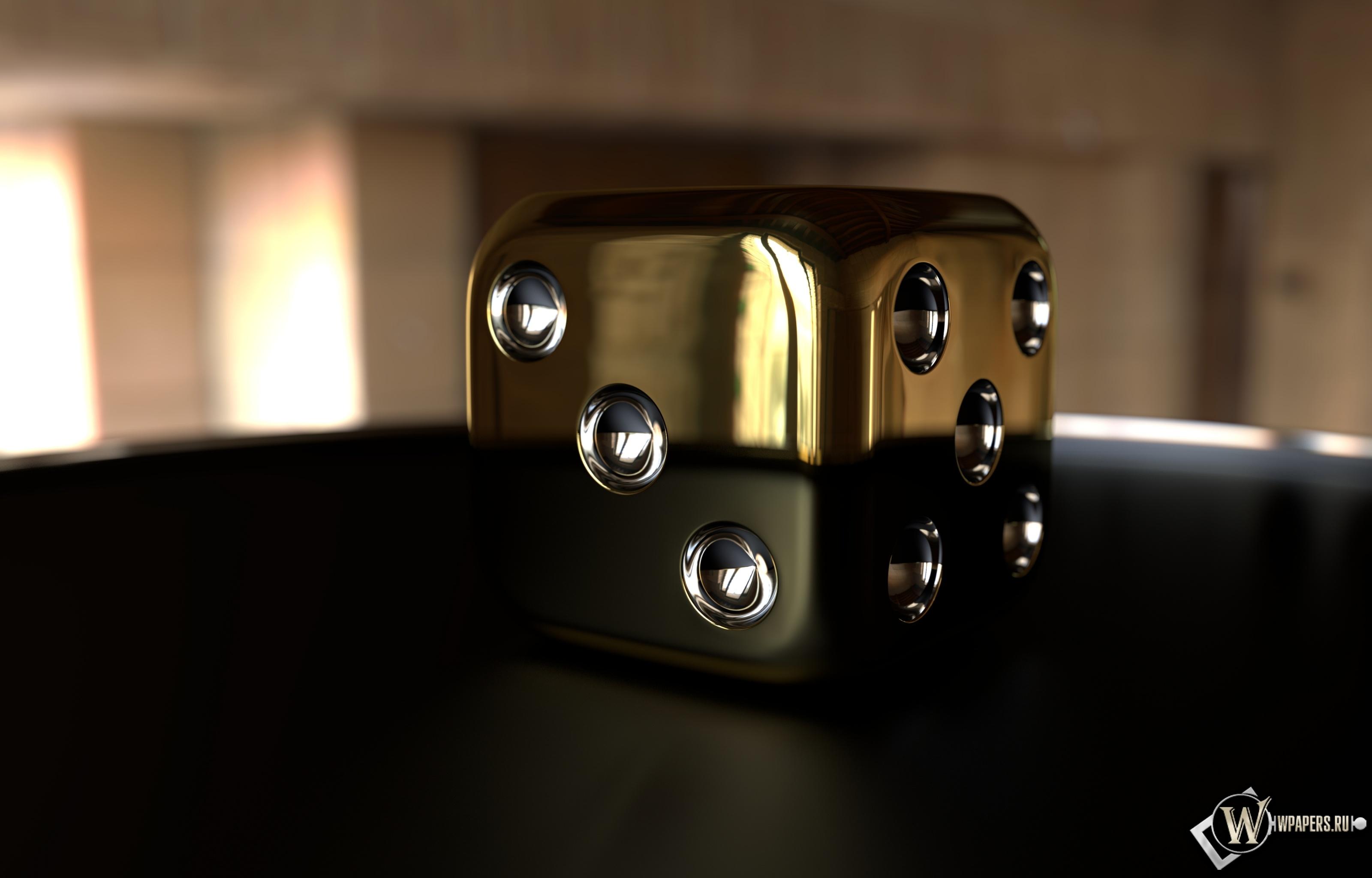 Золотой куб 3200x2048