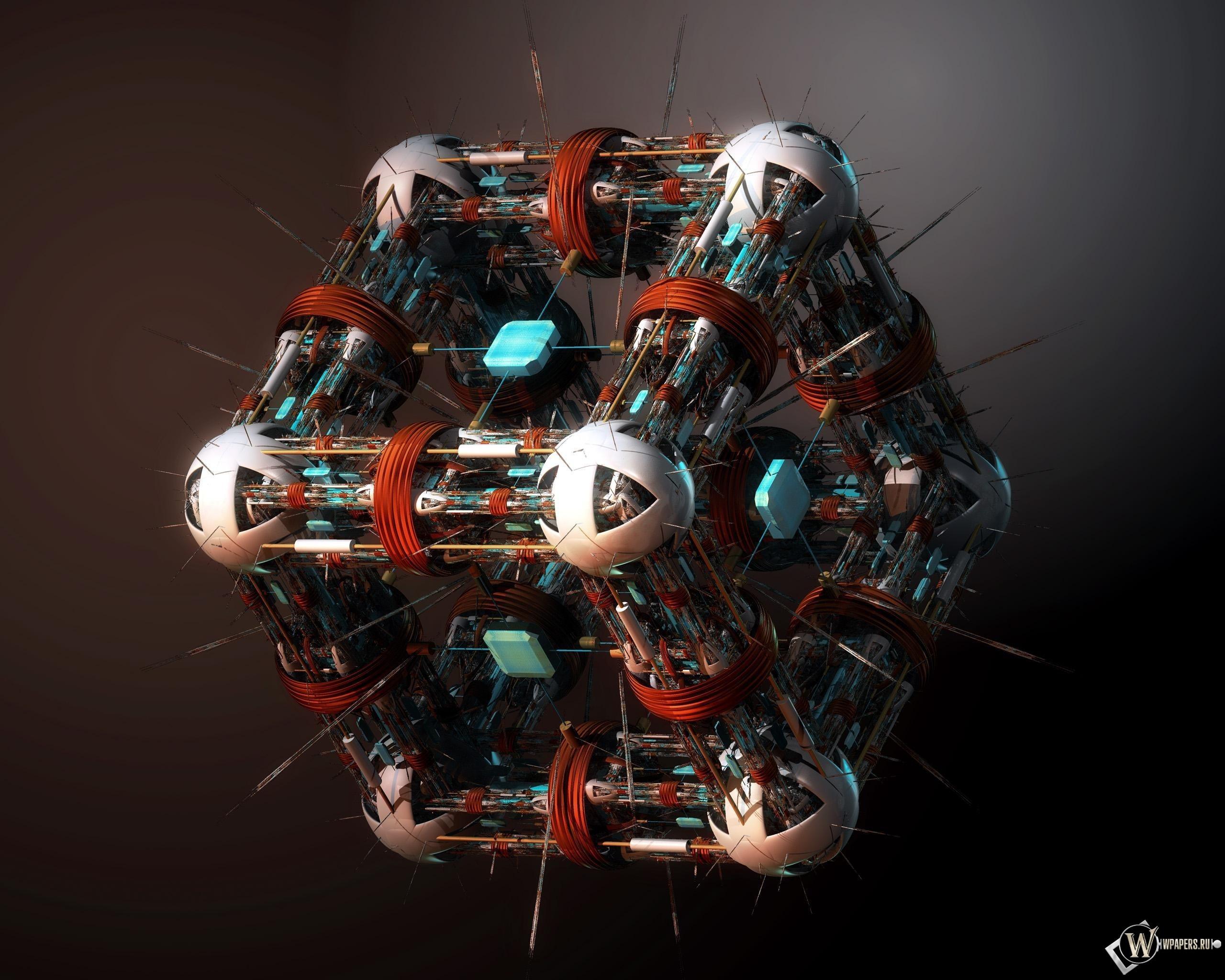 Нано куб 2560x2048