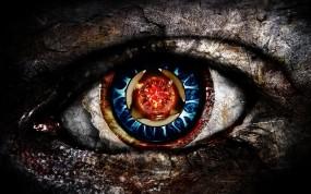 Обои Глаз: Глаз, Зрачок, Вирус, Рендеринг