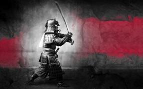 Обои Самурай: Воин, Меч, Доспехи, Самурай, Разное
