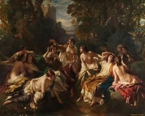 Florinda - 1853. Franz Xaver Winterhalter