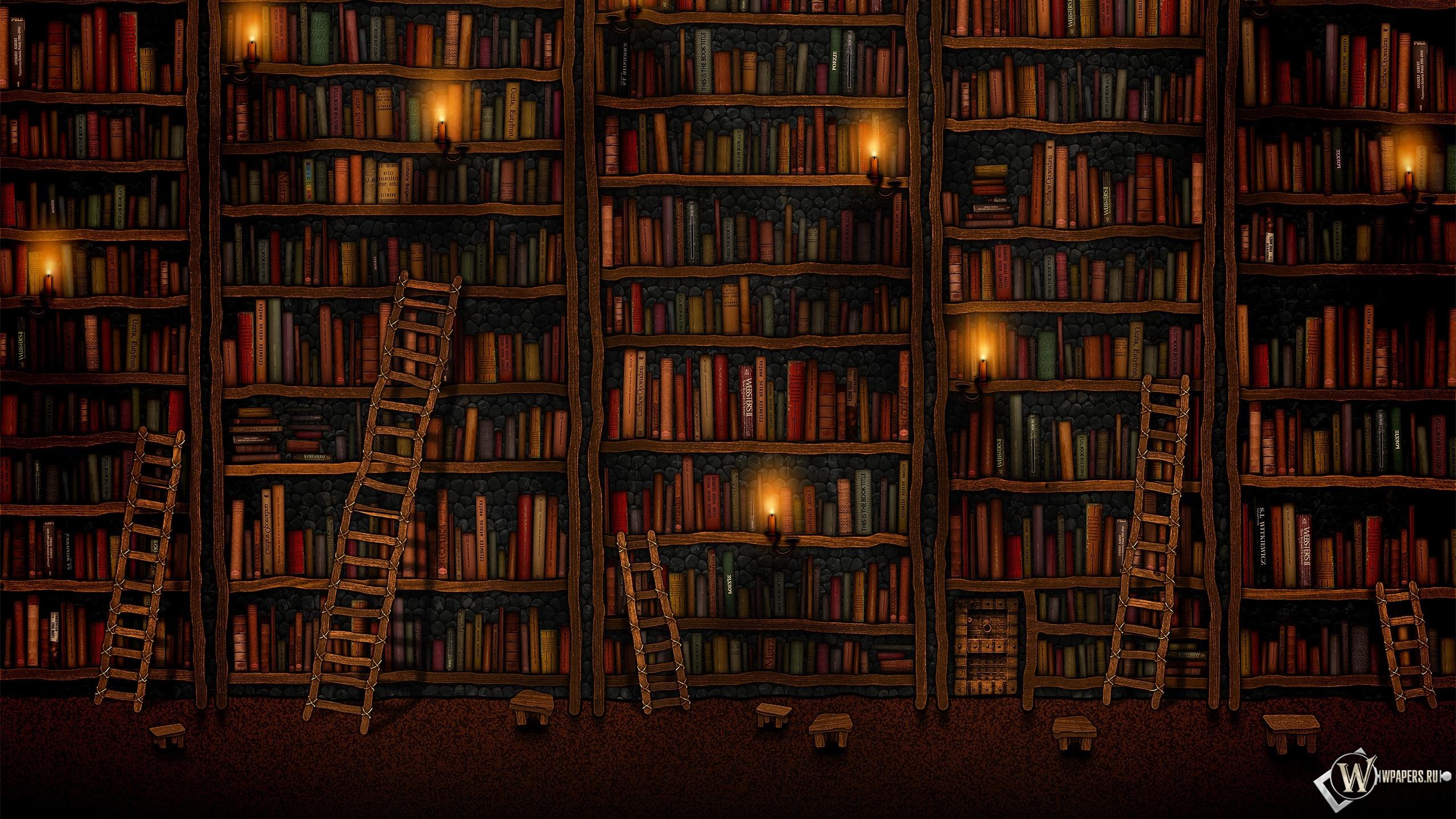 Обои библиотека, книги. Разное foto 9