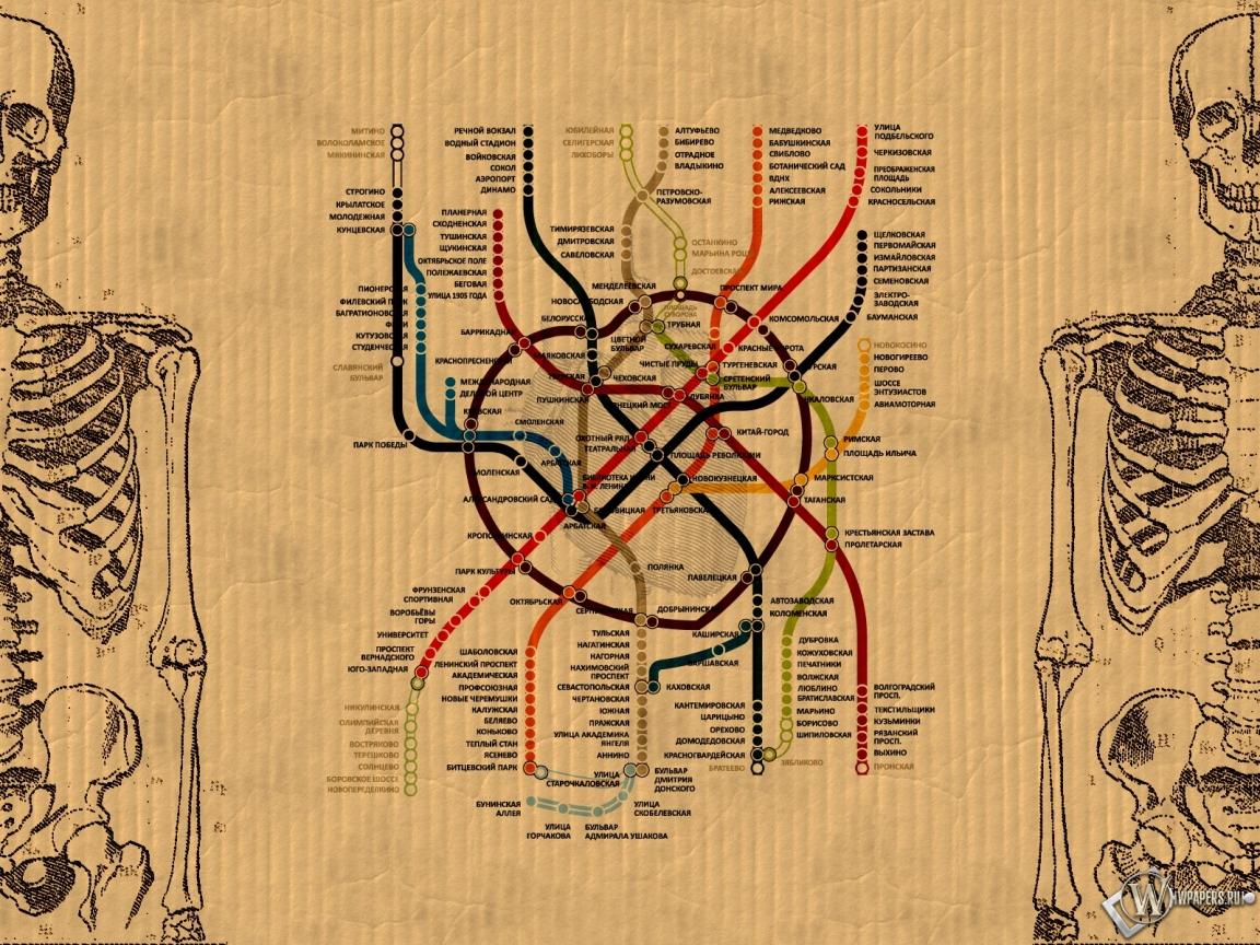 метро москвы 1152x864