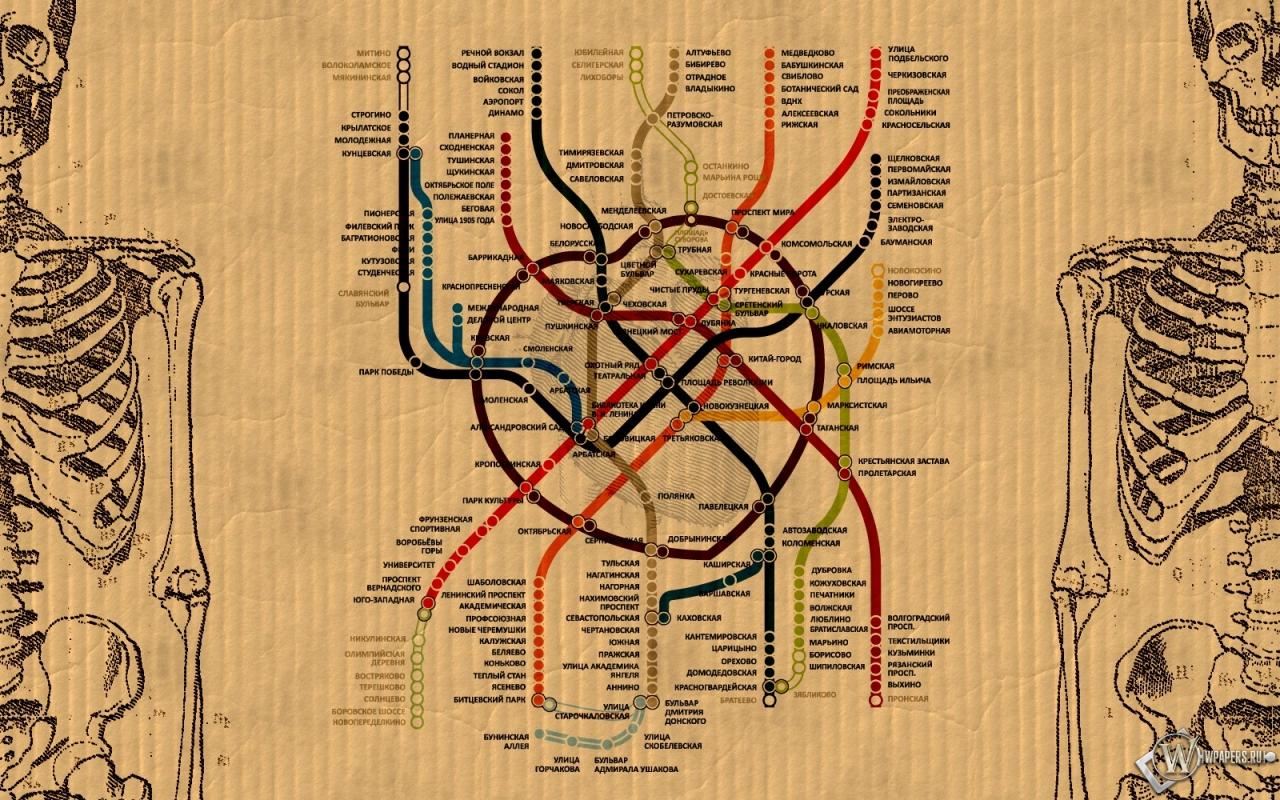 метро москвы 1280x800