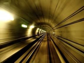 Обои Туннель метро: Скорость, Метро, Туннель, Разное