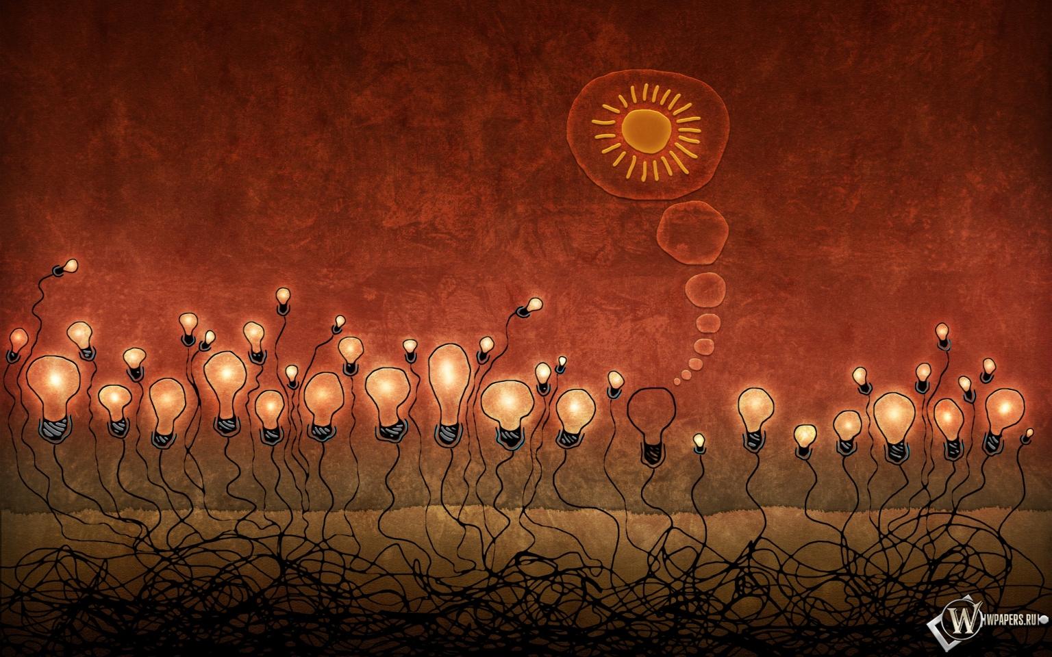 Красные лампочки 1536x960