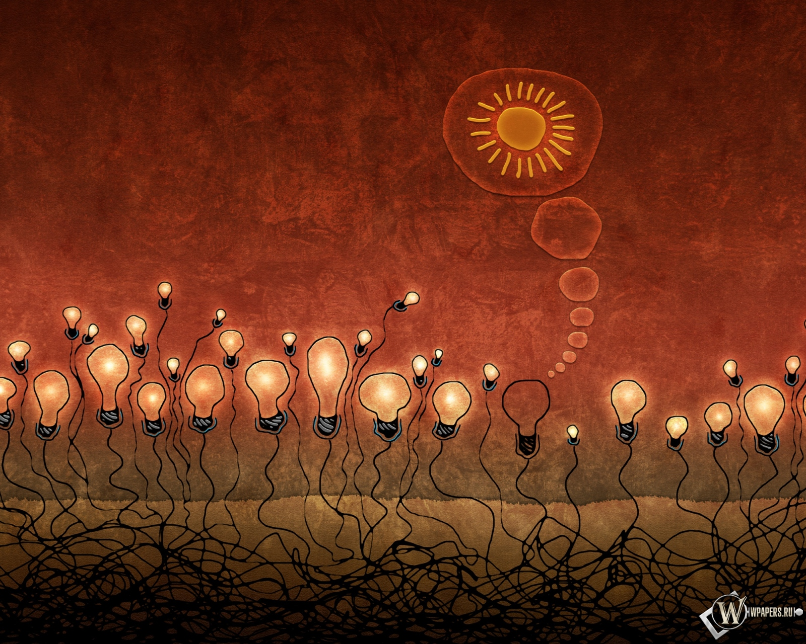 Красные лампочки 1600x1280
