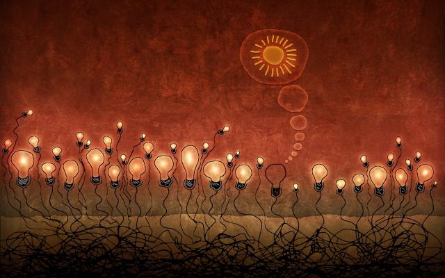 Красные лампочки
