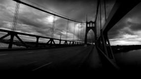 Обои Мост Святого Джонса: Мост, Фото, Небо, Пейзаж, Дороги, Города, Разное