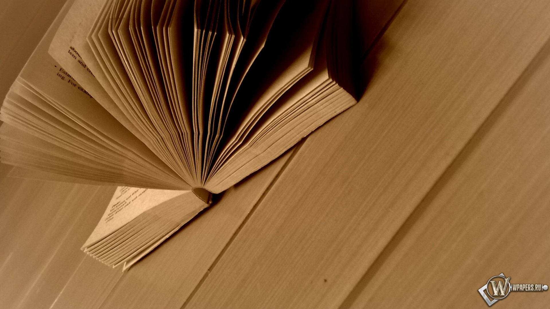 Развёрнутая книга 1920x1080