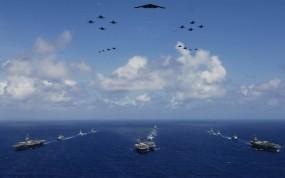 Обои ВМФ: Море, Самолёты, Флот, Разное