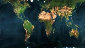 Обои Карта планеты: Земля, Планета, Карта, Материки, Разное