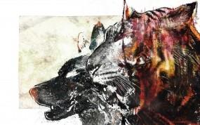 Обои Тигроволк: Волк, Тигр, Разное