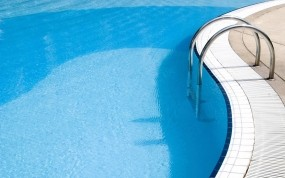 Обои Бассейн: Вода, Бассейн, Синий, Разное