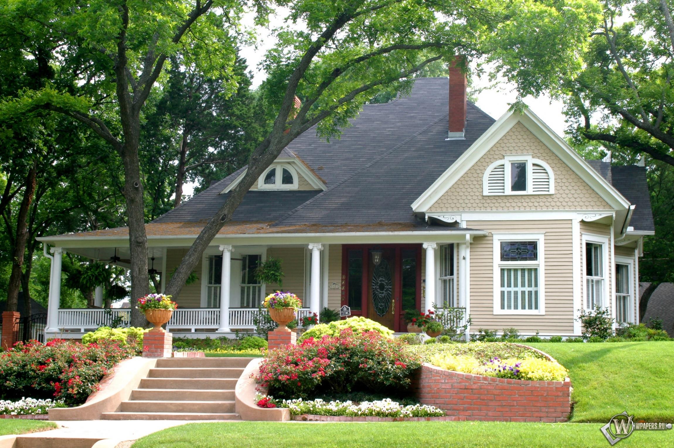 Красивые картинки домами