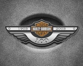 Обои Harley Davidson: Металл, Логотип, Harley davidson, Разное