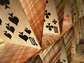 Обои Карточный домик: Карты, колода, Разное