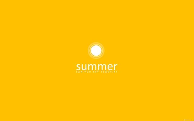 Лето-солнце