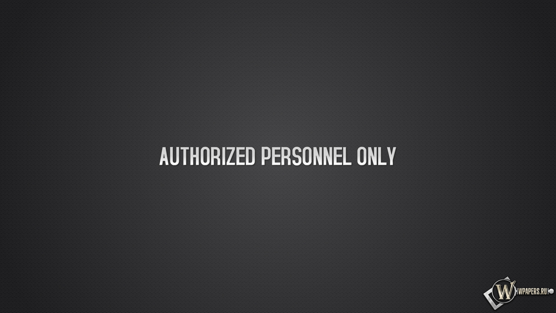 Authorized personnel only 1920x1080