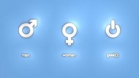Обои Мужчина и женщина: Женщина, Мужчина, Технологии, Разное