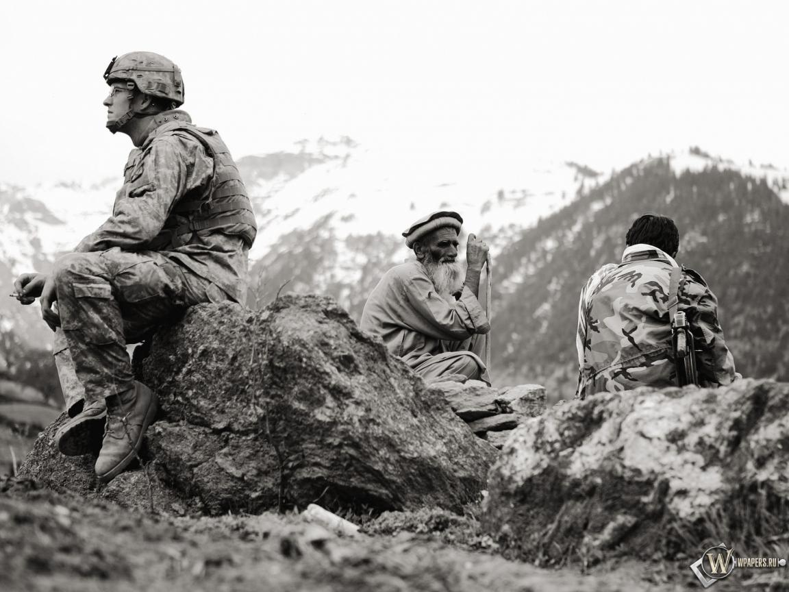 Американец в Афганистане 1152x864
