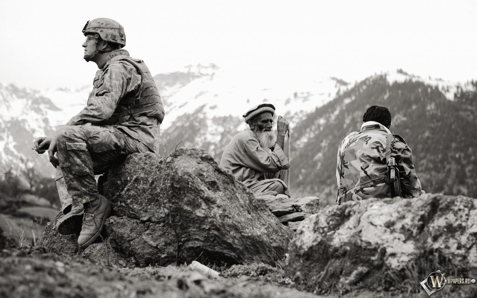 Американец в Афганистане 1536x960