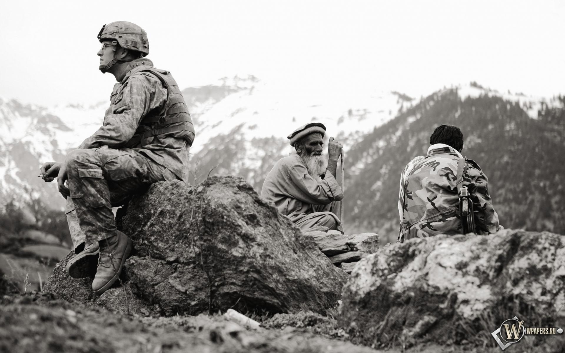 Американец в Афганистане 1920x1200