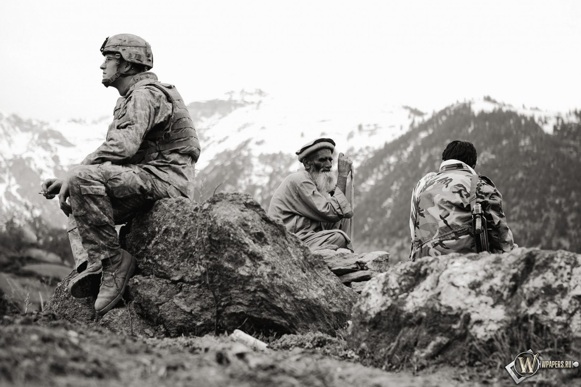Американец в Афганистане 1920x1280