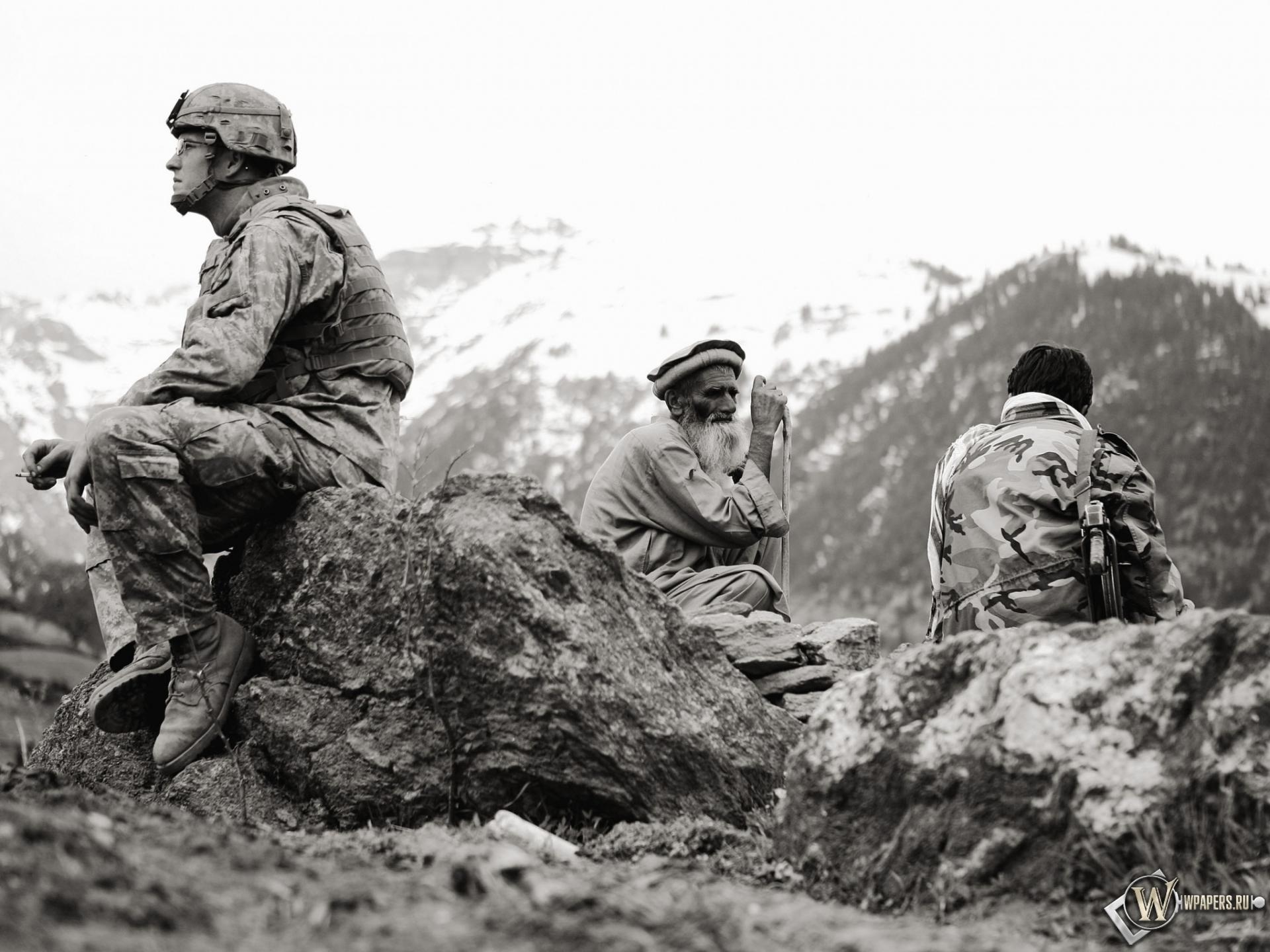 Американец в Афганистане 1920x1440