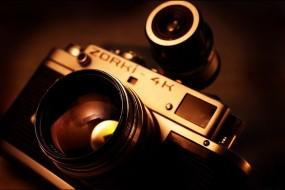 Обои Фотоаппарат  Zorki-4k: Камера, Фотоаппарат, zorki-4k, Разное