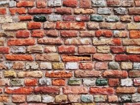 Обои Кирпичная стена: Стена, Текстура, Кирпич, Разное