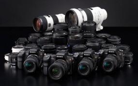 Обои Фотоаппараты Sony: Фотокамера, Sony, Разное