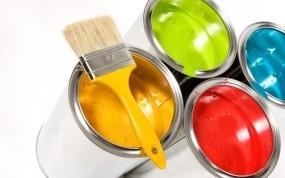 Обои Банки с краской: Цвет, Краска, Банка, Разное